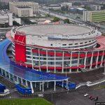 Ледовый дворец Мегаспорт на Ходынке г. Москва