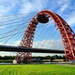 Вантовый мост г. Москва