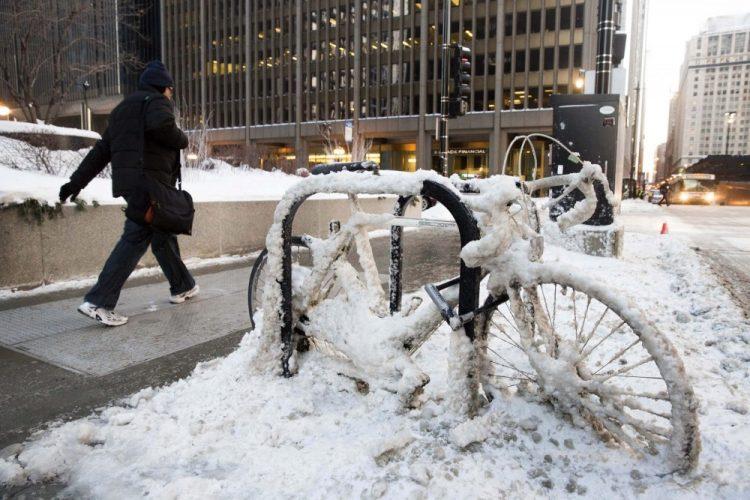 Заморозки в Чикаго